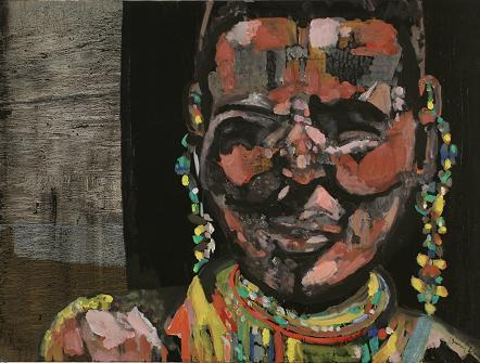 Masai Woman 2<br>30x40