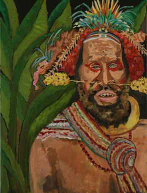 New Guinea Man<br>30x40