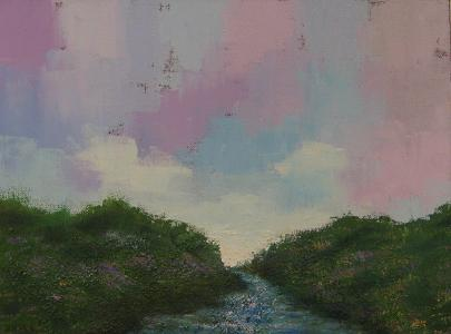 Landscape #58<br>12x16