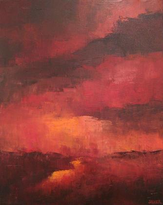 Landscape #135<br>16x20