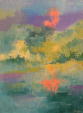 Landscape #588<br>9x12