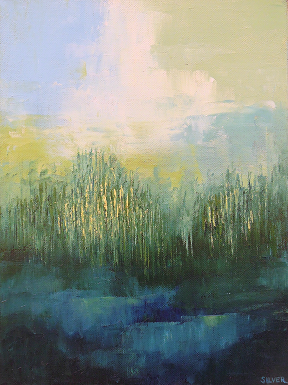 Landscape #598<br>9x12