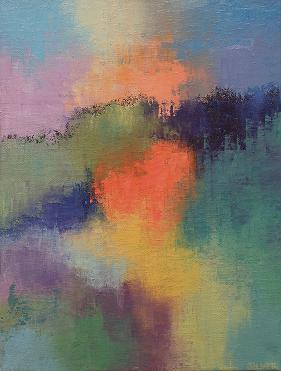 Landscape #642<br>9x12