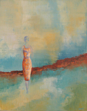 Solitary Figure #3<br>16x20
