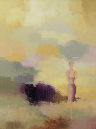 Solitary Figure #9<br>30x40