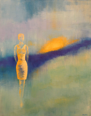 Solitary Figure #11<br>16x20