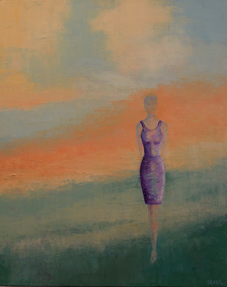 Solitary Figure #13<br>16x20