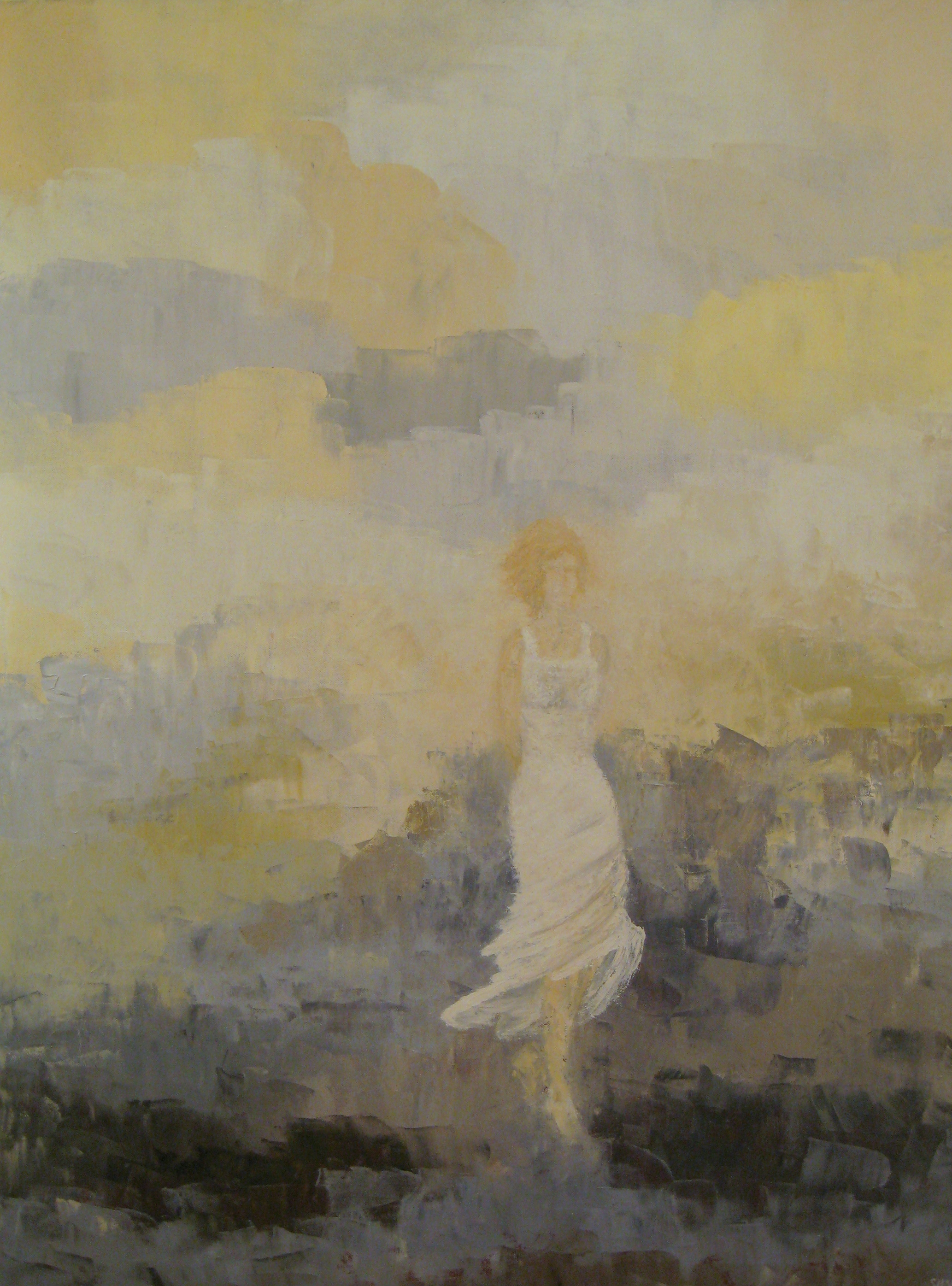 #457 Solitary Moment<br>30 X 40
