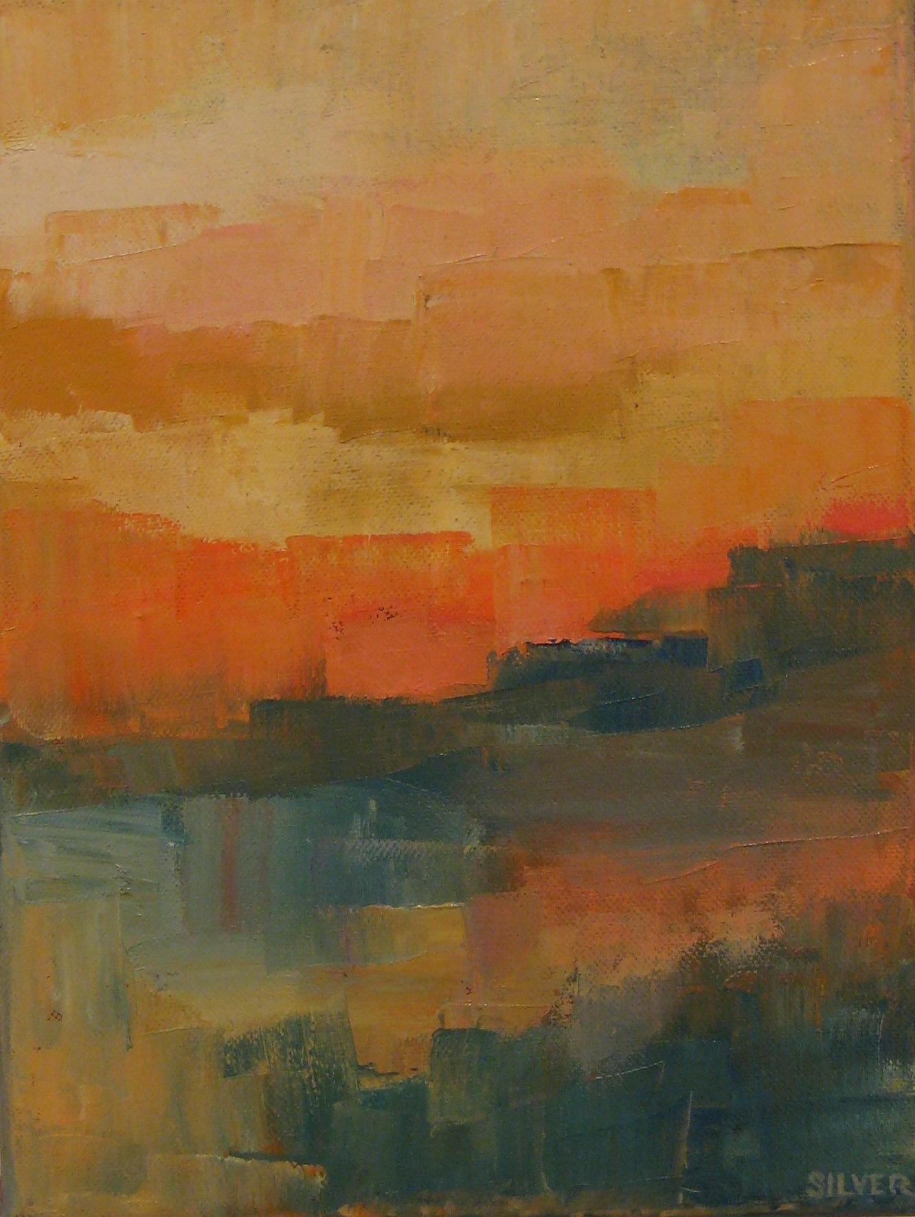 Landscape #414<br>9 X 12