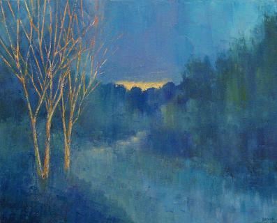 Night Trees #7<br>16 X 20