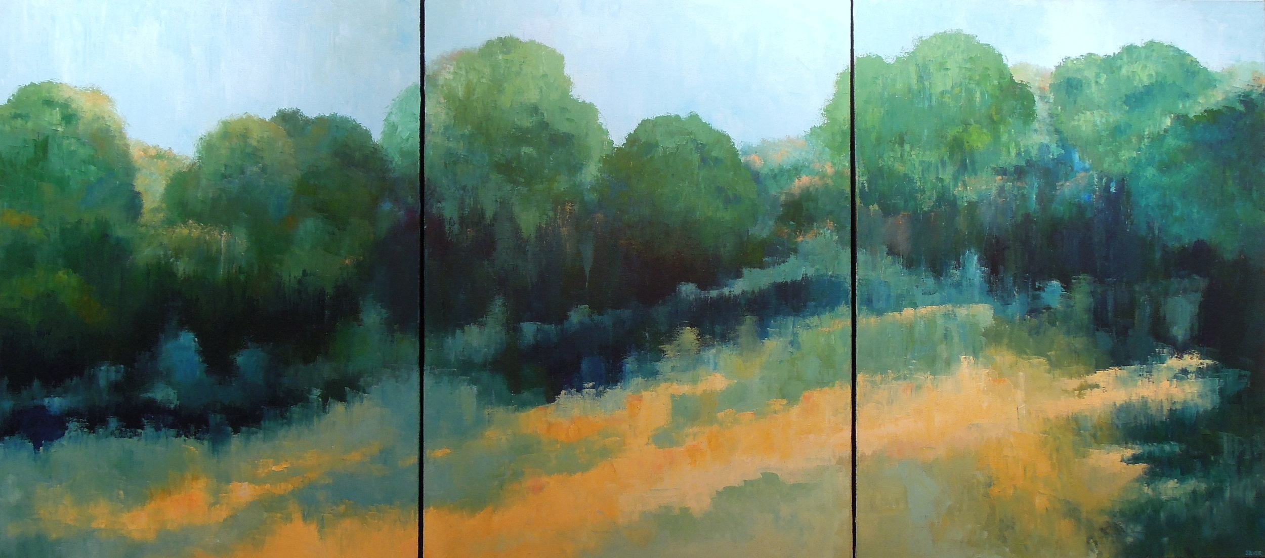 Copy of Landscape #752<br>40 X 90 (triptych)