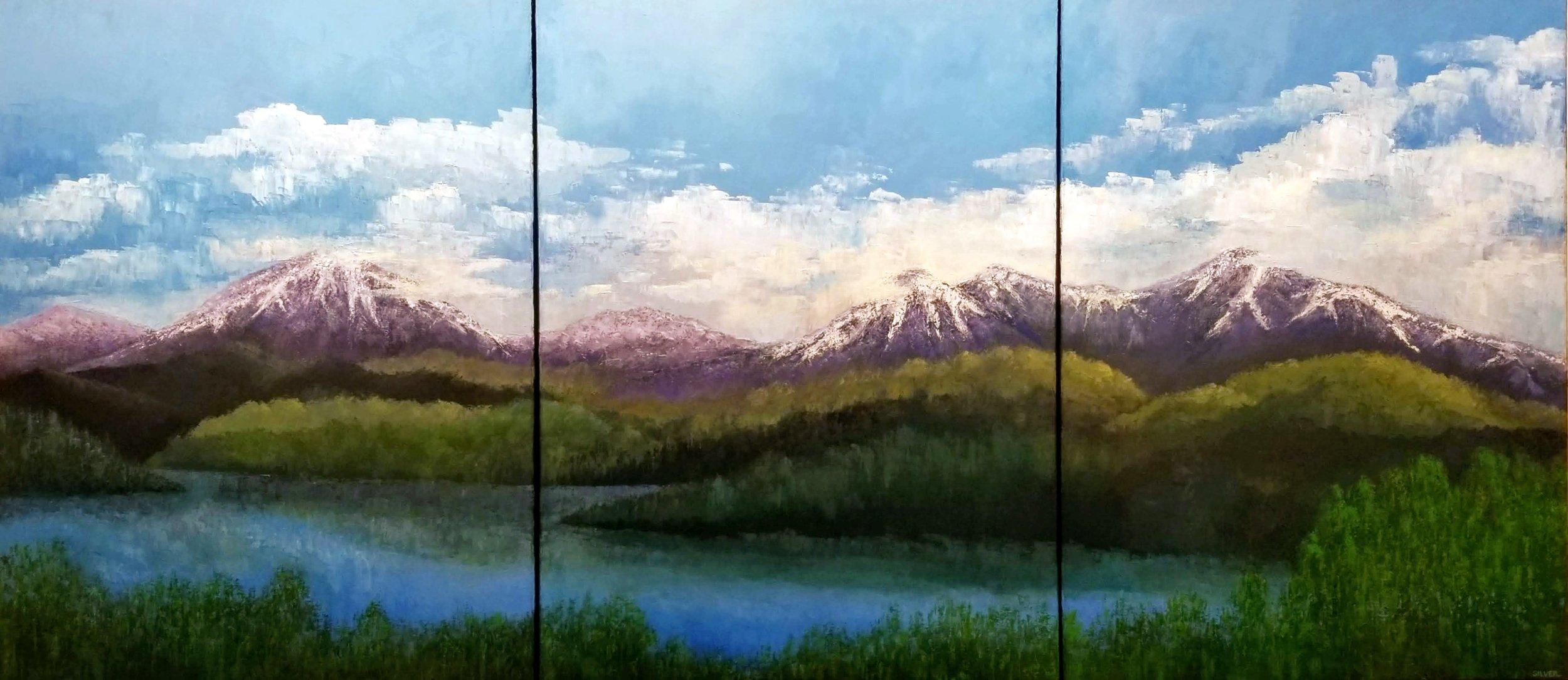 Landscape #772 40 X 90