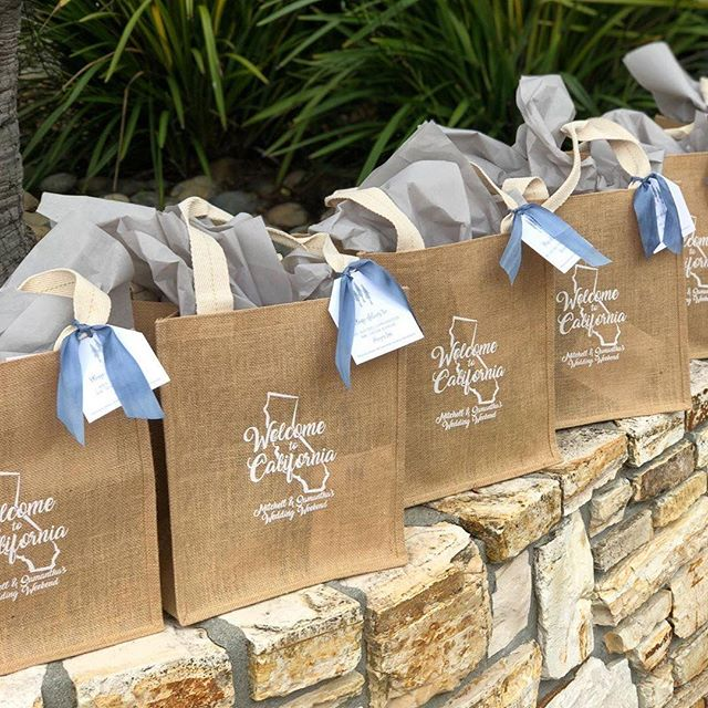 Welcome to California! And thank you to @heartpapersoul and @allisonweddings for allowing me to collaborate with you on these welcome bags and more, for a very special Big Sur wedding.  #detailsmakethedifference #favoritethings #bigsurweddings #warmwelcome