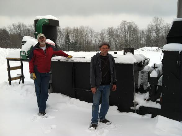 Dr. Hugh McLaughlin and Doug Clayton.