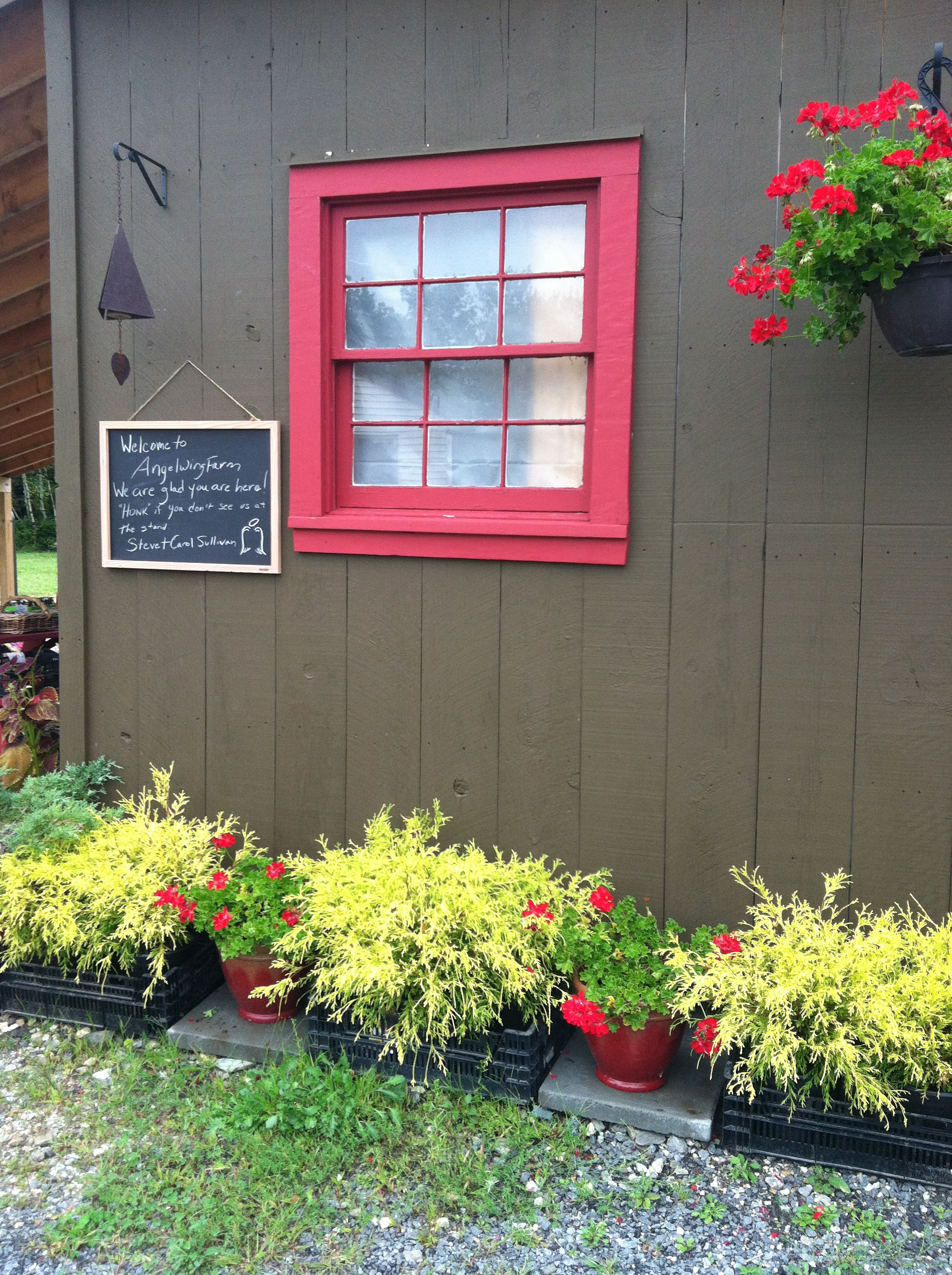 Angel Wing Farm Stand
