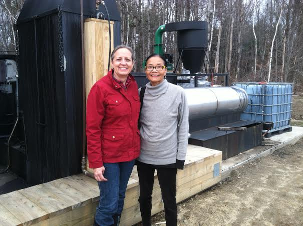 Carol with Izabel Lam.