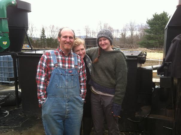 The Bobrows: Marc, Kim Hamilton, and Sydney Noa