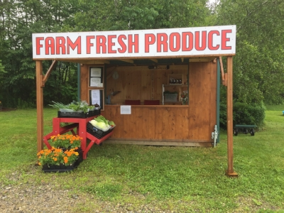 Angel Wing Farm Stand in Sullivan,NH