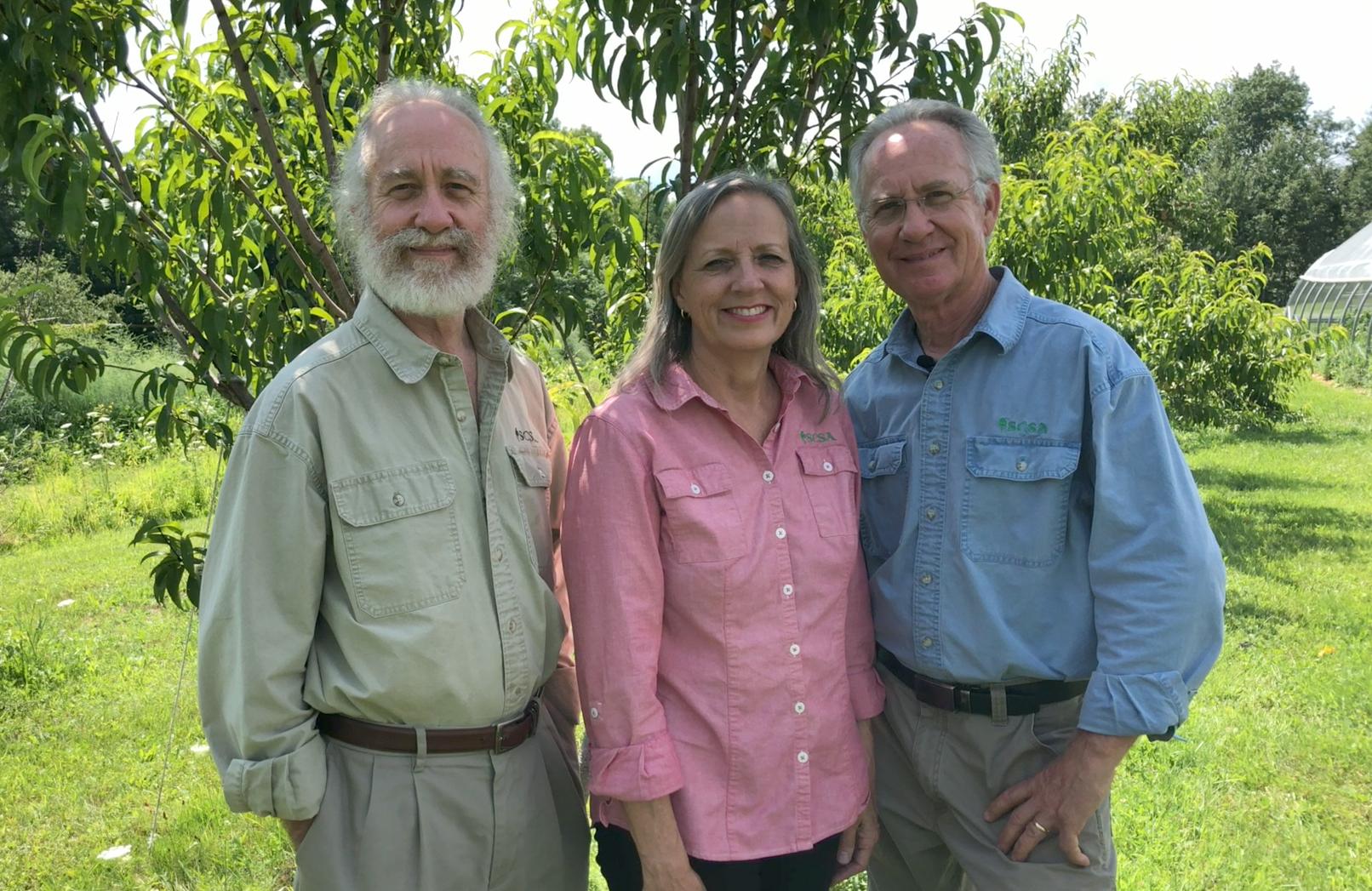 Rich, Carol, and Steve.
