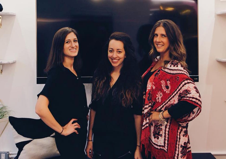 The founders and partners at Sanctuary,Sarah, Kristin, and Heather.