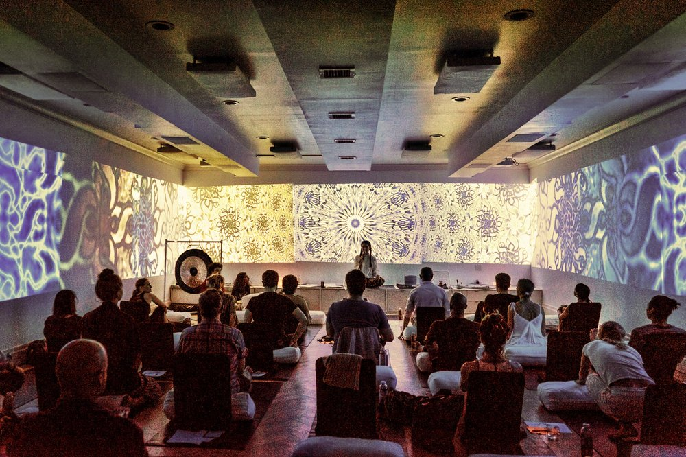 The audio/visual presentation at WOOM is more than a little magical.