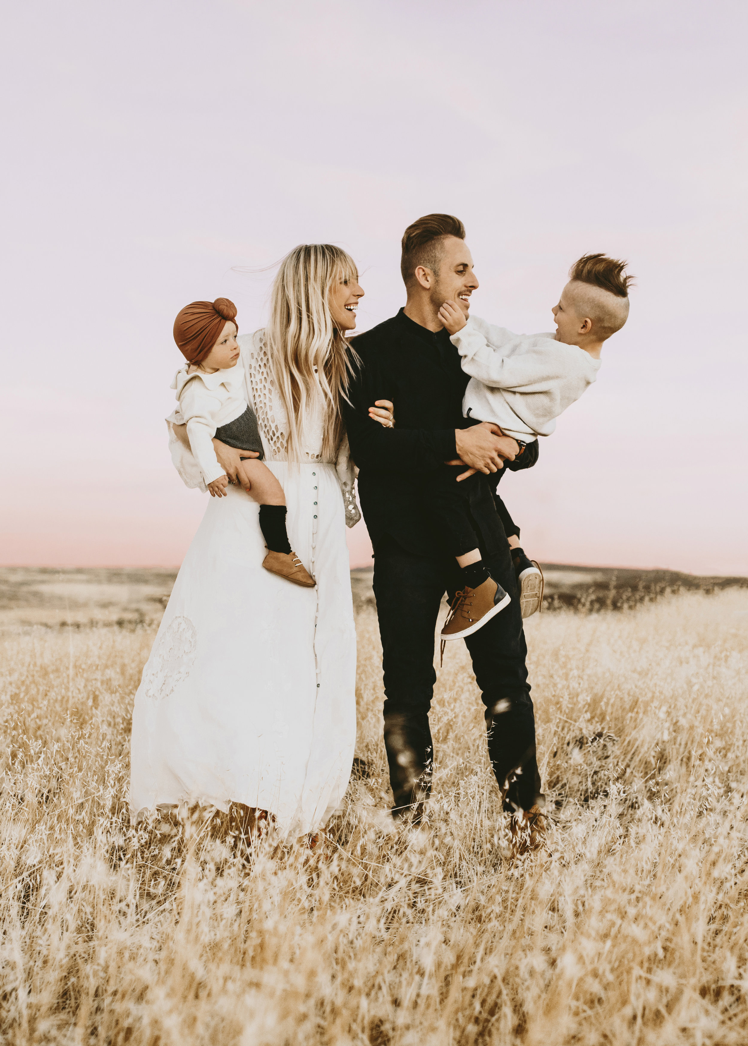 Bailey (Founder), Chase (Husband), Lennon (Daughter), Banks (Son)