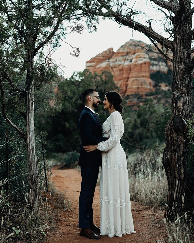 Sedona is perfect for a secluded elopement
