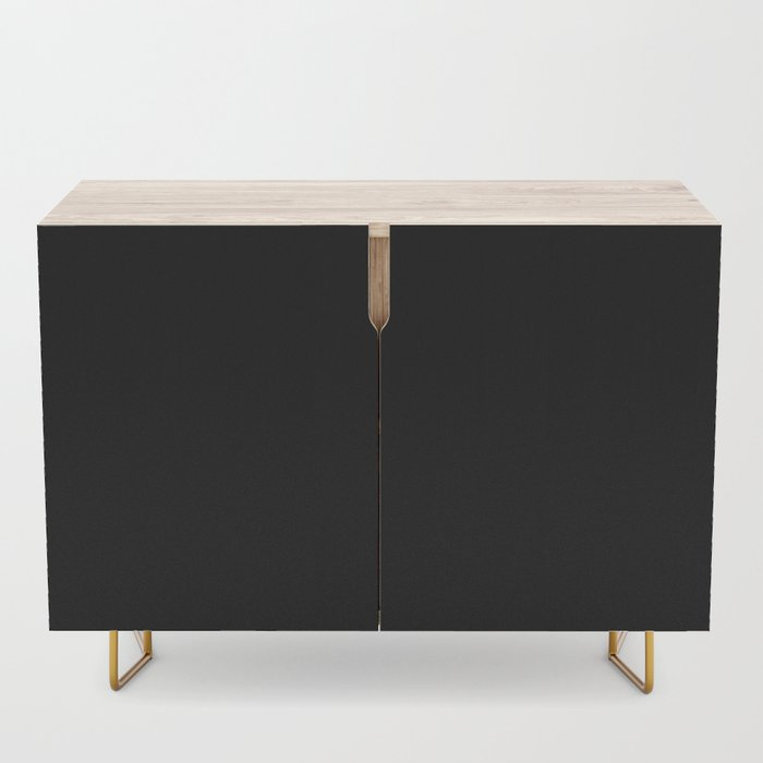 Simply Midnight Black Credenza