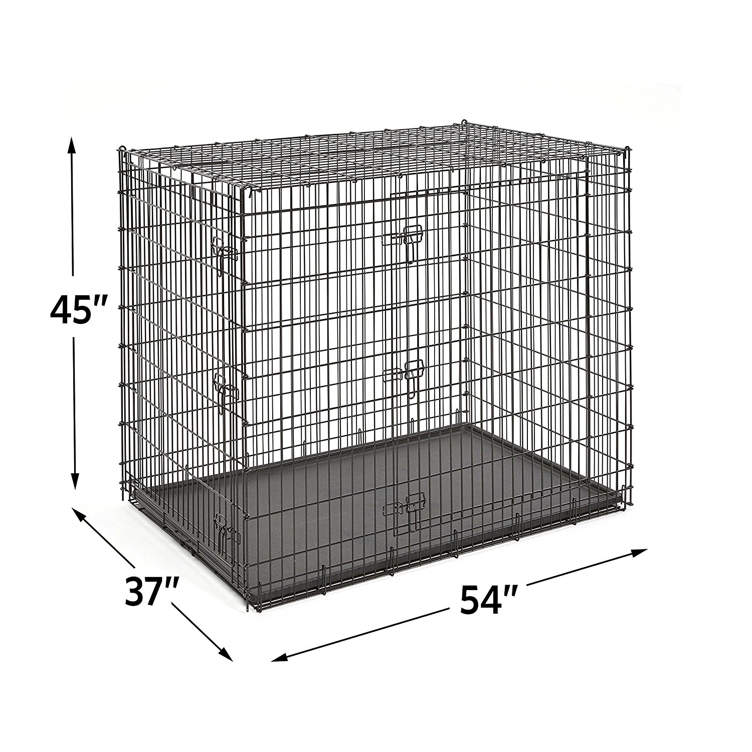 Great Pyrenees Crate - This is the wire crate we recommend for Great Pyrenees. If your Pyr is a farm guardian, depending on your set-up, this may not be something you need. It is handy for hauling to the vet as it can collapse down and not take lots of space when you don't need it.For our Pyr pups who are heading home to live as strictly a family companion, this is something we do recommend. Whether you decide to crate train in your home or not, we still feel it is important for a dog to have their own space that they can retreat to within a home. It also provides you with a place to put them where they are safe and comfortable for occasional situation in which they, for whatever reason, are not able to be out and about in your home.Although this is quite large for a pup, there is a divider panel available that will allow you to use it throughout your dog's life without having to buy different sizes for different stages. I will include a link for the divider below!https://amzn.to/2yHZAZY