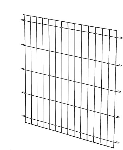 Great Pyrenees Crate Divider - This is the crate divider for the XXL dog crate. This allows you to use the same crate throughout the life of your puppy without purchasing new crates for each new stage. This is important as a puppy, given too much space, may choose an end of that space as appropriate for going to the bathroom in. Keeping their crate space comfortable, but small, is an important step in training!For our farm families, this also helps the crate be more usable for hauling multiple animals by making separate