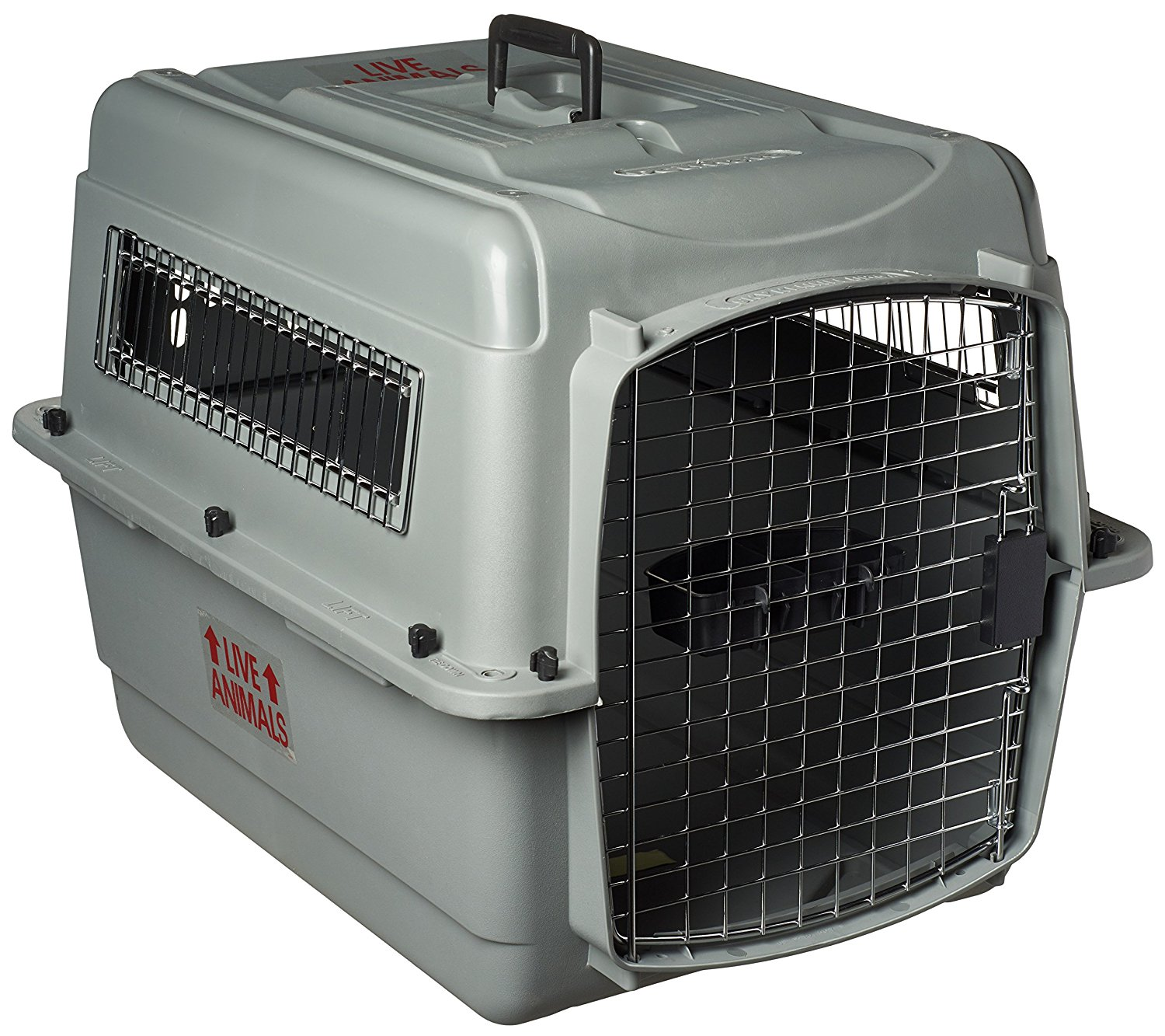 Great Pyrenees Cargo Flight Crate - This is the crate that our Great Pyrenees puppies currently fly in! Those of you who are having your pup flown to an airport near you will have one of these, however, our families often ask what size of crate they need to bring their Pyrenees pup home in the vehicle-----this is it!https://amzn.to/2KgjD2P