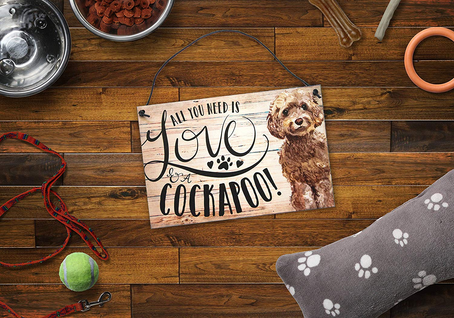 Cockapoo Sign - https://amzn.to/2MS9pas