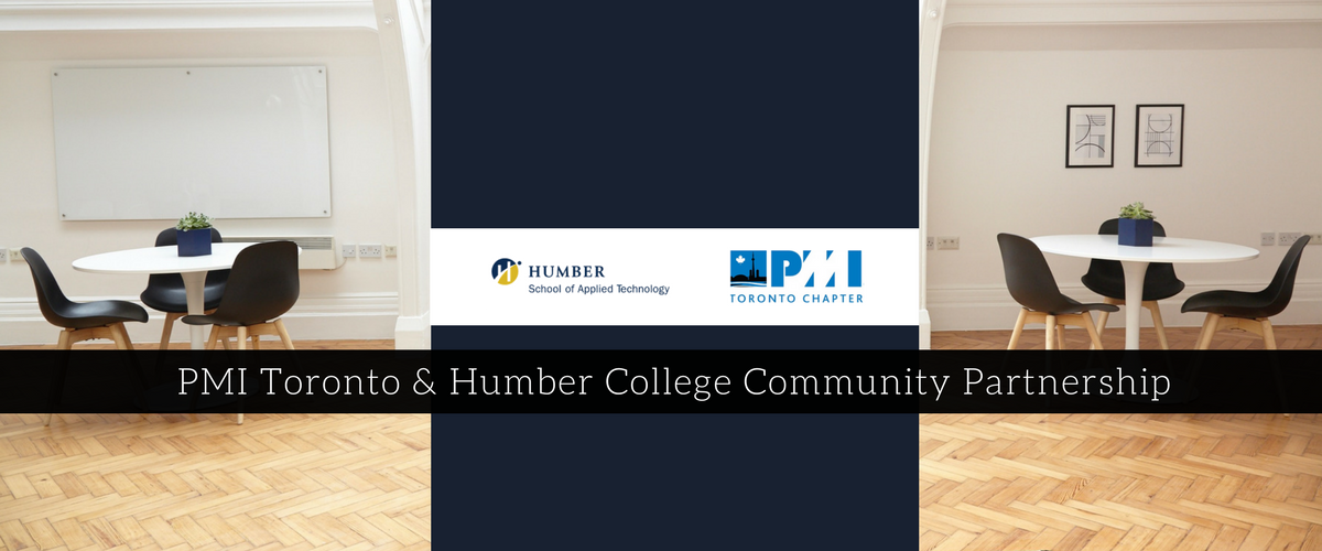 PMI Toronto & Humber College Community Partnership  Managed the project of launching a student group called the PMI Humber Community, as a partnership between the Project Management Institute, Toronto Chapter with the Humber College Project Management Post Graduate Program. Initiated and implemented the guiding operational framework that future successions of students will utilize to lead the student group.  Role: Project Team Member