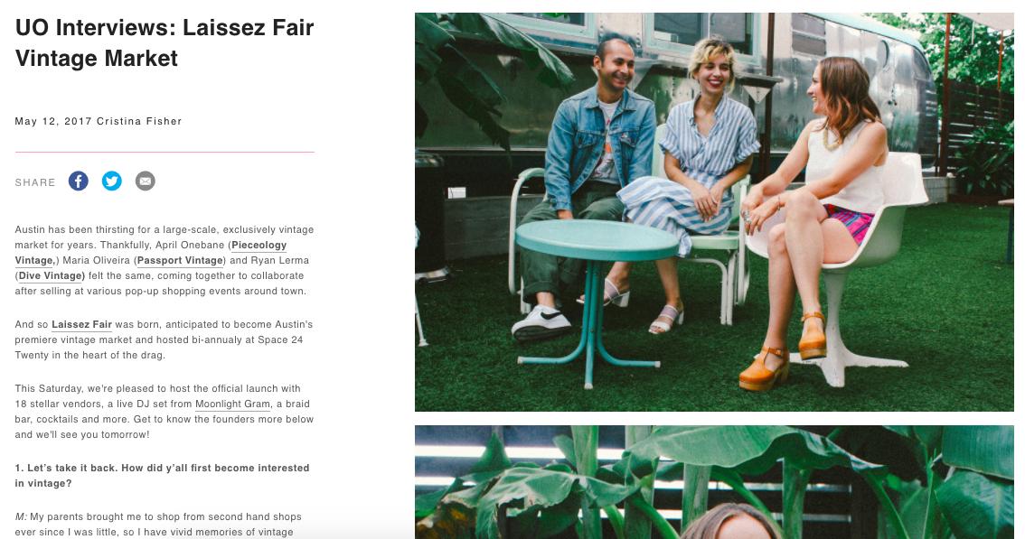 Urban Outfitters Laissez Fair