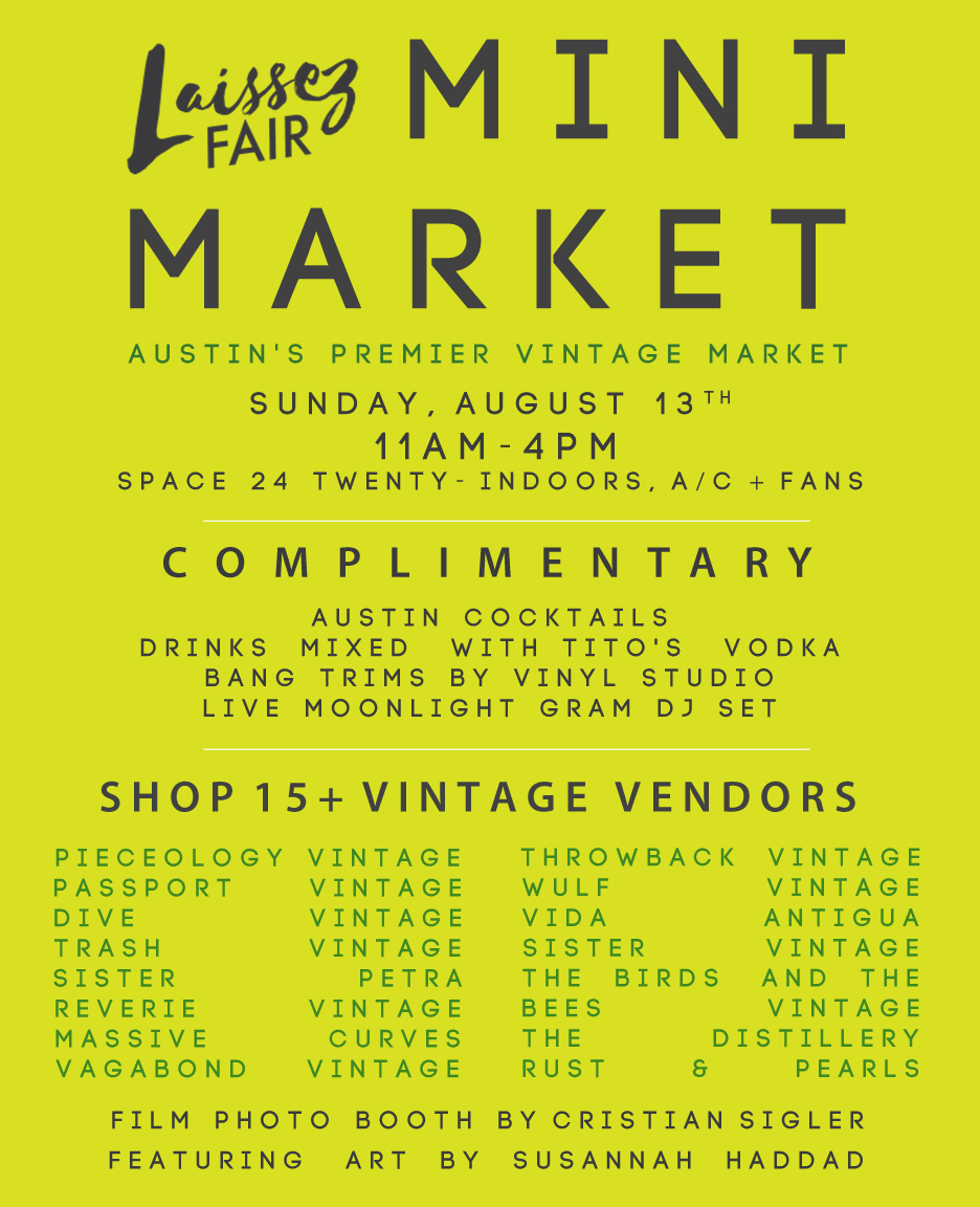 Laissez Fair Mini Vintage Market