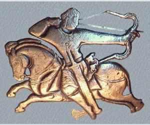 Attila's Hun cavalry