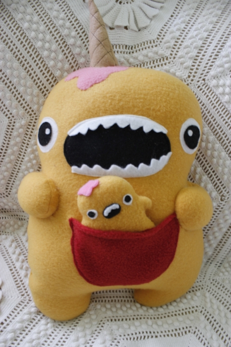 Brain Freeze Yellow Monster