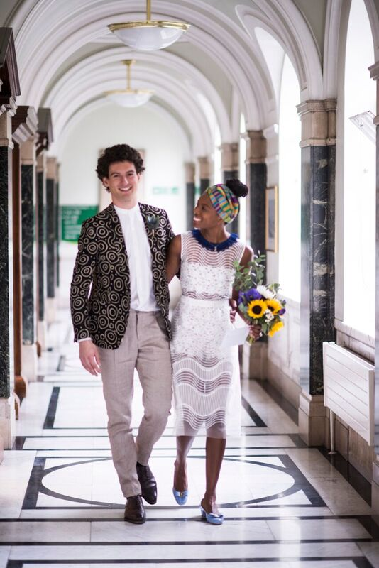 Civil wedding, The first of our three wedding celebrations and five outfit changes
