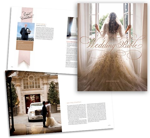 """The ultimate guide to getting married."" - CONDÉ NAST BRIDES"