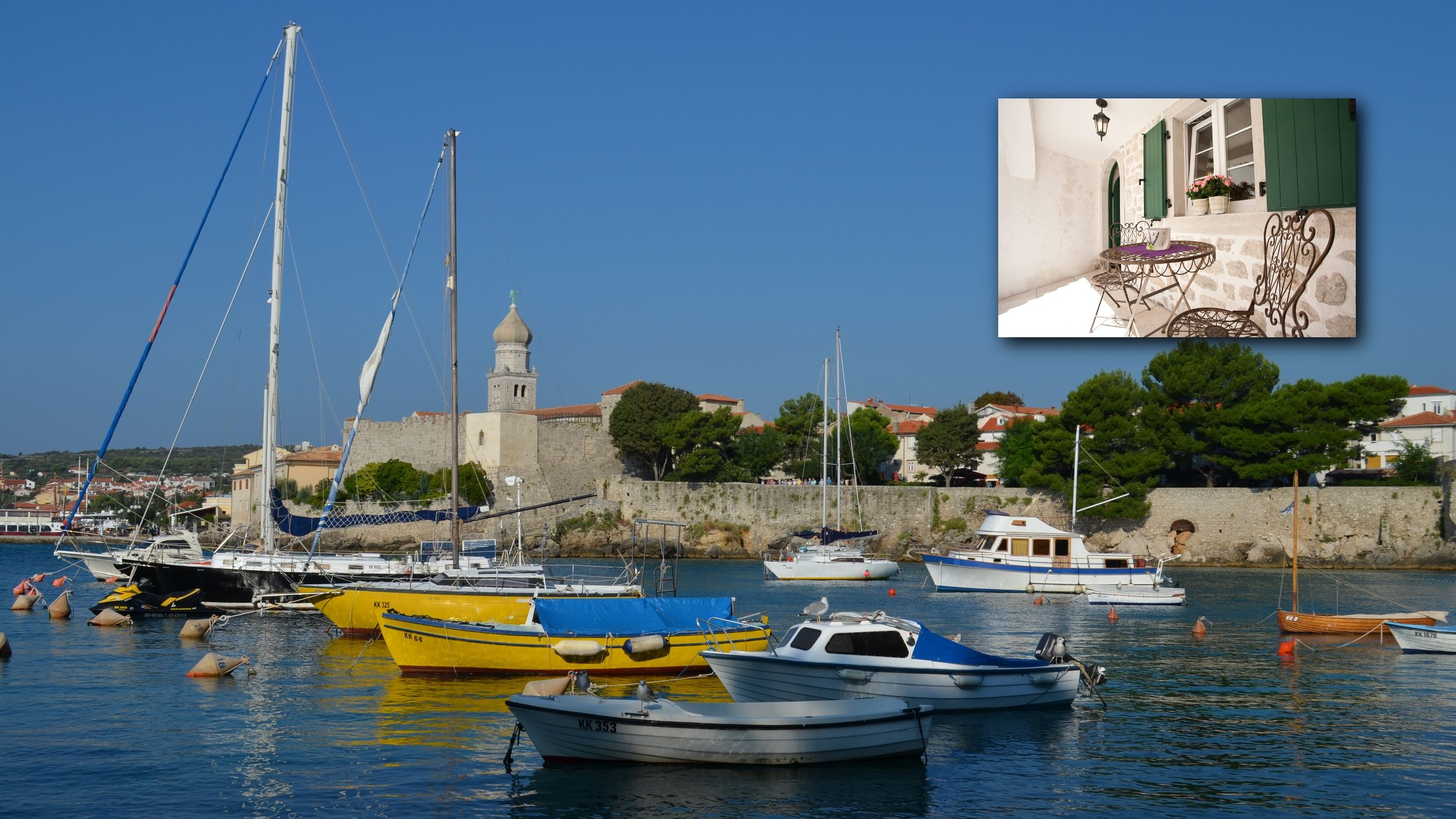 Ancient history, sun and crystal-clear water!      Krk