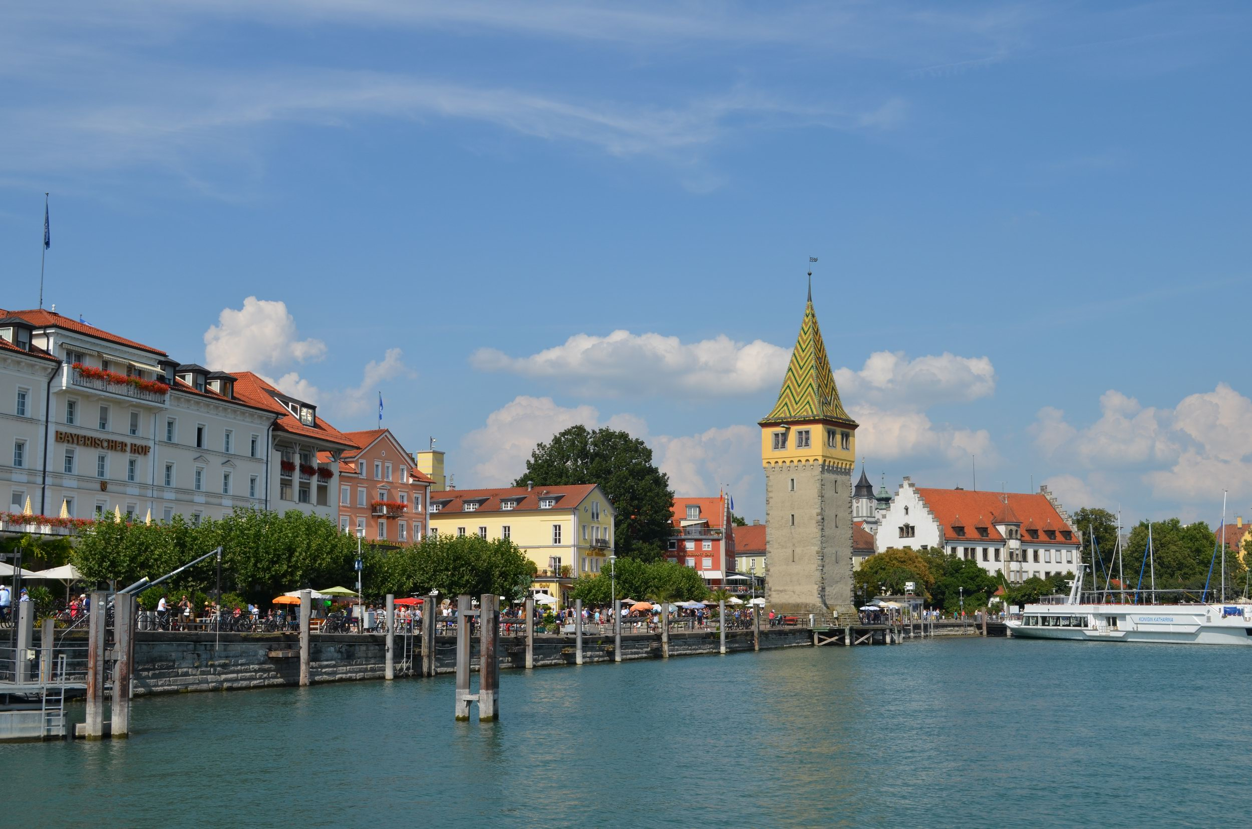 Lindau harbour walk