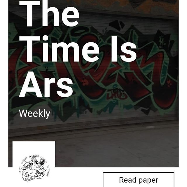 @thetimeisars #weeklyspread is available now www.thetimeisars.com