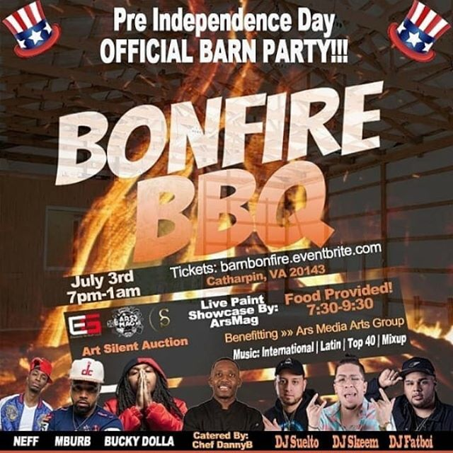 COME JOIN US JULY 3 FOR #bonfirebbq presented by @preciselyseen x @thetimeisars  Tickets are available now!