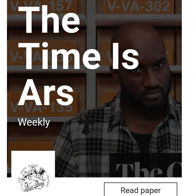 Latest #weeklyspread just dropped 1 hour ago! Make sure you stay #uptodate with everything creative!  Over 100 dope articles in #streetwear #comics #entertainment and more!  #thetimeisars #arsmag  #weeklypaper  #weeklydigest  #everything  #creative