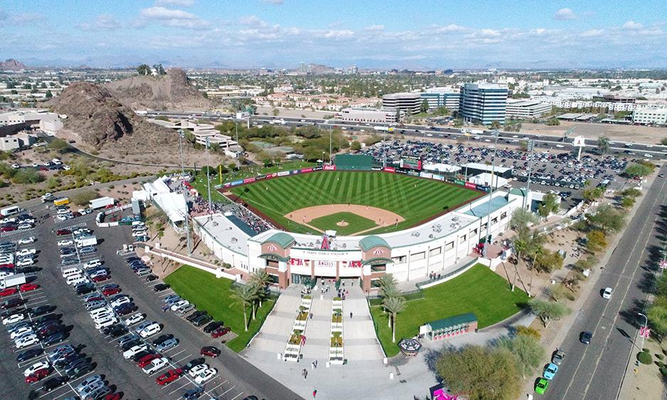 Tempe Diablo Stadium, Aerial Photography.JPG