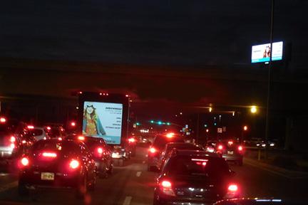 Evening Rush Hour Traffic