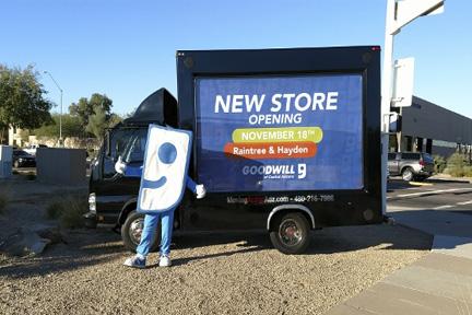 Dedicated Mobile Billboard Trucks