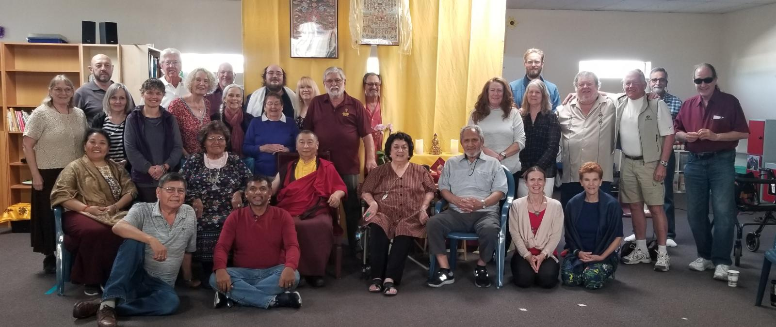 Bardor Tulku Rinpoche in Phoenix April 14, 2019