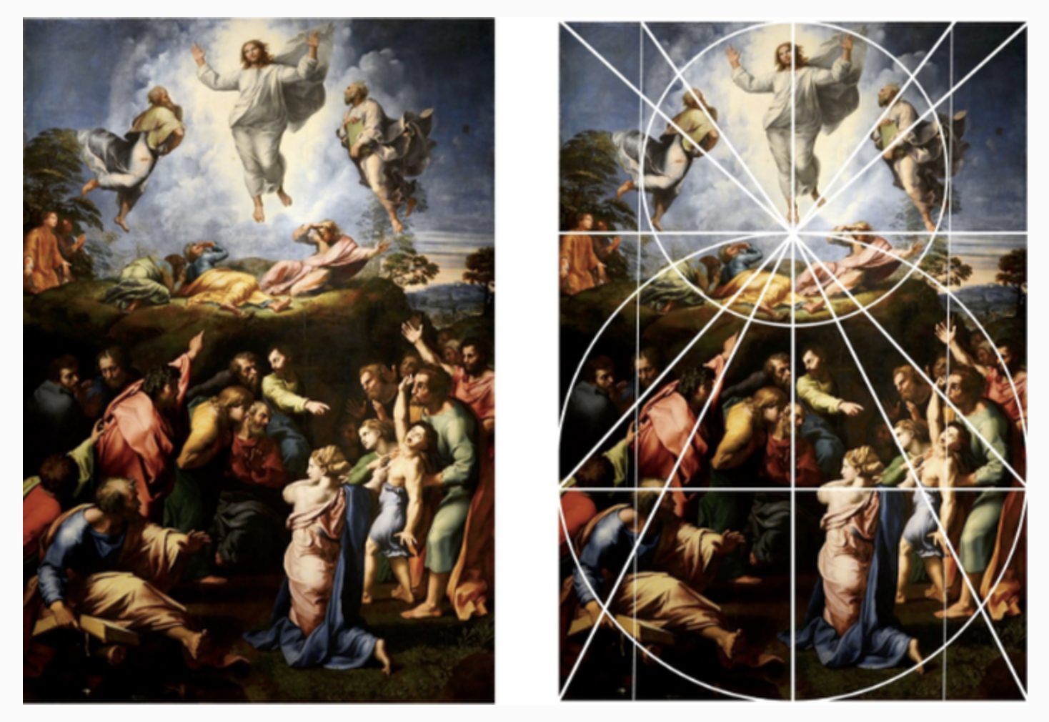 Bild målad av Raphael