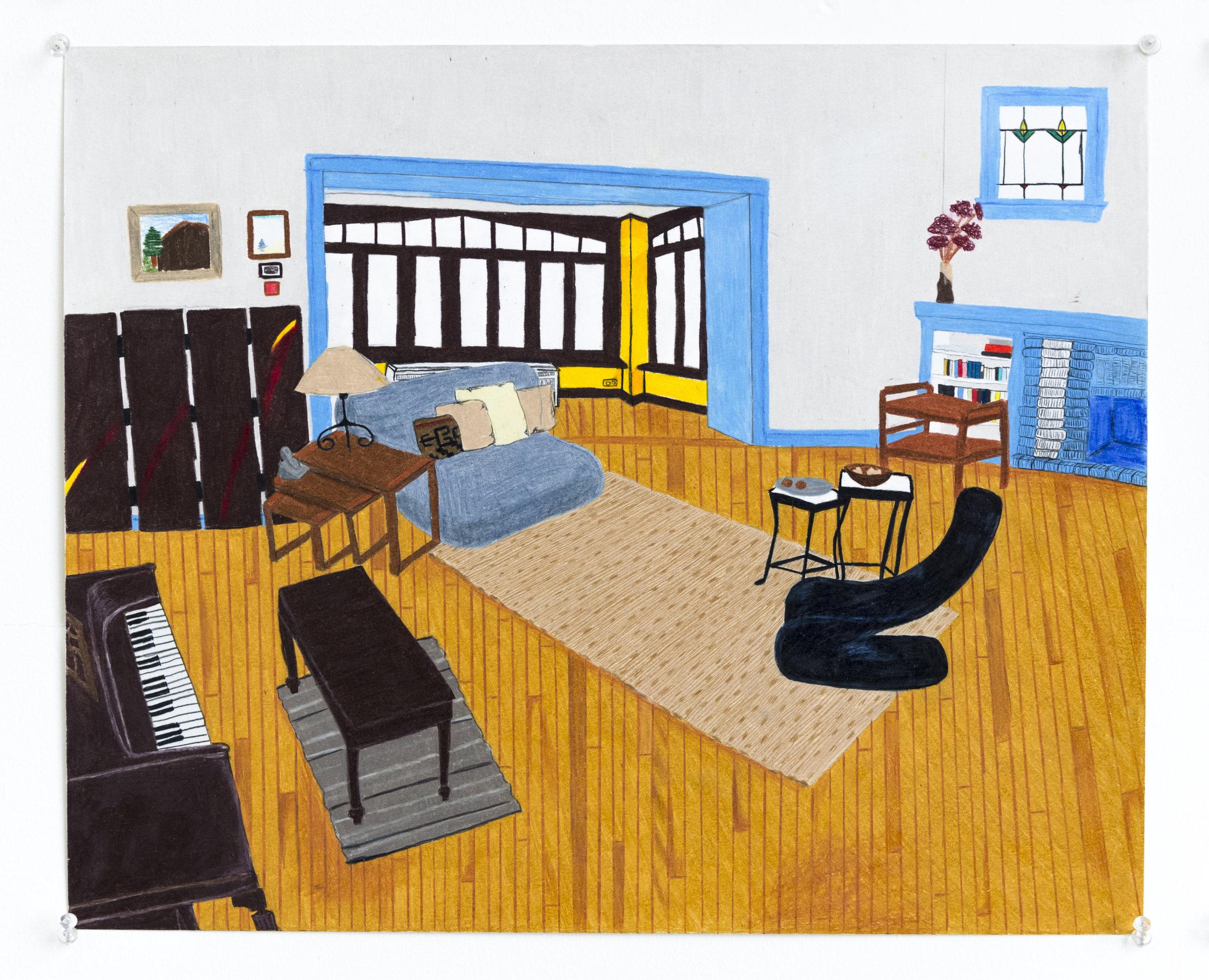 Living Room (no TV)